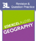 Edexcel A-level Geography Exam Question Practice [L]..[1 year subscription]